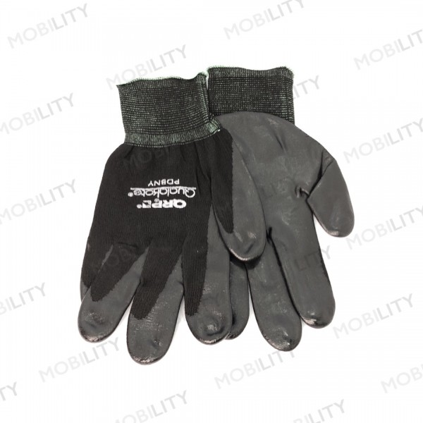 ESD Gloves Qualakote PDBNY with palm coated Black ...