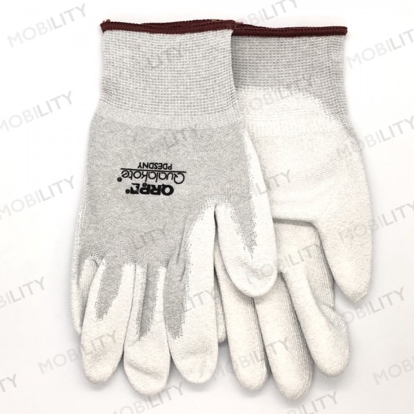ESD Gloves QRP Qualagrip PDESDNY-L with Nitrile. c...